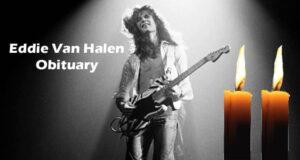Eddie Van Halen Obituary Updated 2020