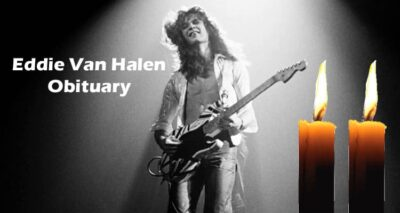 Eddie Van Halen Obituary Updated 2020