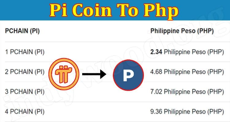 About General Information Pi Coin To Php 2021