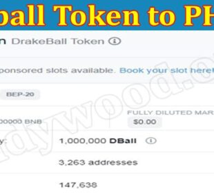About General Information Dball Token to PHP