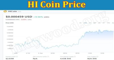 HI Coin Price (Aug 2021) Digital Currency Facts Here!