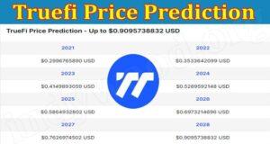 Latest News Truefi Price Prediction