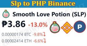 Slp to PHP Binance